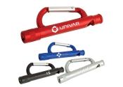 Custom Carabiner Flashlight /Whistle