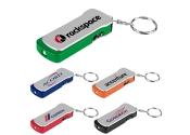 Custom Imprinted Travel Tool Flashlights with Key Tags