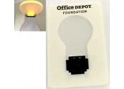 Custom Credit Card Size LED Flashlight-White