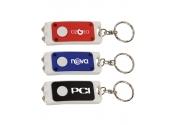 Custom Dual LED Keychain Flashlights
