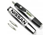 Custom Mini Flashlight with Screwdriver-Silver