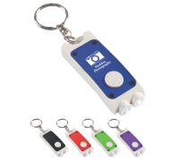 Custom Rectangular Dual LED Keychains
