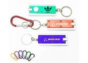 Custom Slim Rectangular Flash Light with 6 Colors