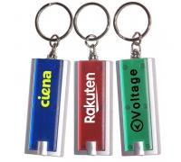 Custom Slim Rectangular Flashlight with 6 Colors