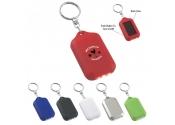 Custom Solar Flashlight Keychains
