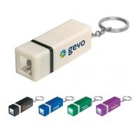 Custom Square LED Keychains