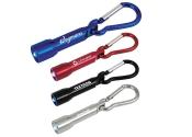 Customized Metal Carabiner Keychain Flashlights