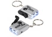 Personalized Mini Dynamo Flashlight Keychains