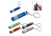Personalized Versa Aluminum LED Keylight with Bottle Opener