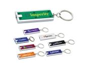 Promotional Rectangular Keychain Flashlights