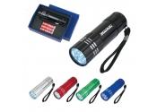 Custom Aluminum LED Flashlight with Strap