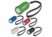 Custom Aluminum Small Stubby LED Flashlights