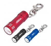 Custom Mini Aluminum LED Light with Key Clip