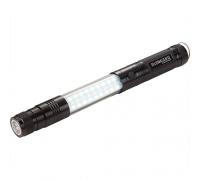 Custom Printed Telescopic Magnetic COB LED Flashlights with Sidelight