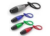 Custom Slip Knot Keychain with Flashlights