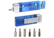 Custom Clip-On Pocket Screwdriver Flashlights