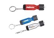 Custom Flashlight Keychain Tools - 3 Colors