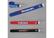 Custom Imprinted Flashlight Slap Bracelets