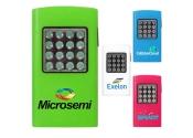 Custom Printed 16 LED Plastic Flashlights - 4 Colors