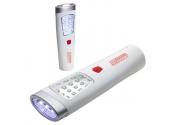 Custom Printed Dual Flashlight White / Silver