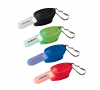 Customized Zipper Puller Safety Flashlights