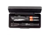 Custom Mini MagLite with Buck Bantam BBW Knife
