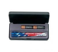 Custom Printed AA American Flag Mini Mag-Lite Flashlights