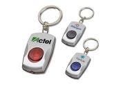 Custom Button Key Tag Promotional Flashlights