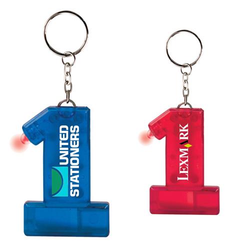 Customized Keylight Number 1 Whistle