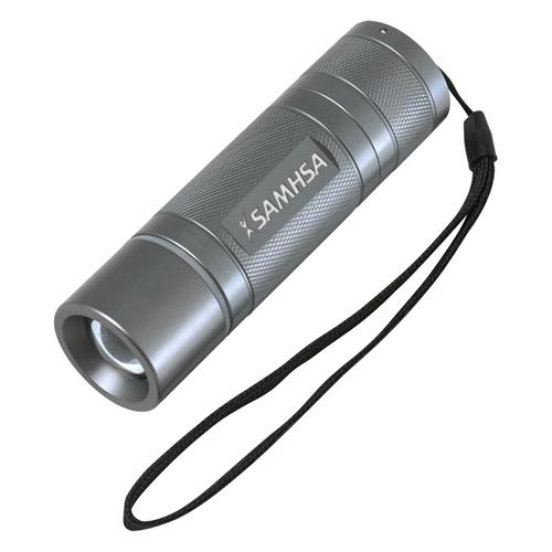 Personalized Microflash Dual Output LED Flashlights - CREE Q3 3 Watt