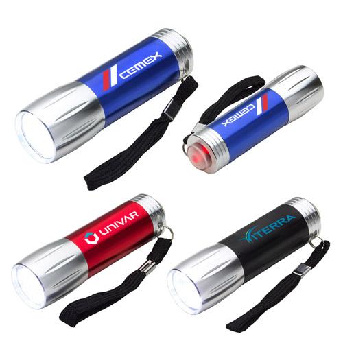 Promotional Logo Compact Multi-Function LED Flashlight