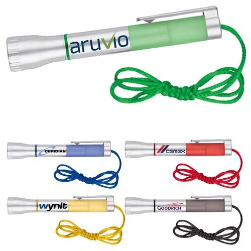Customized LED Flashlights with Ballpoint Combo