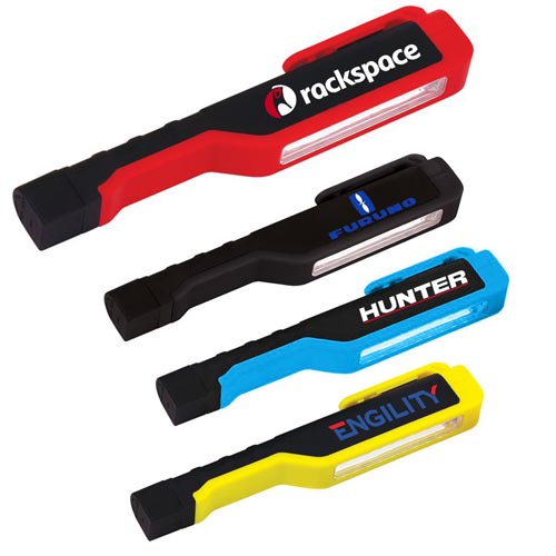 Promotional Pocket Size 10 LED Work Flashlights