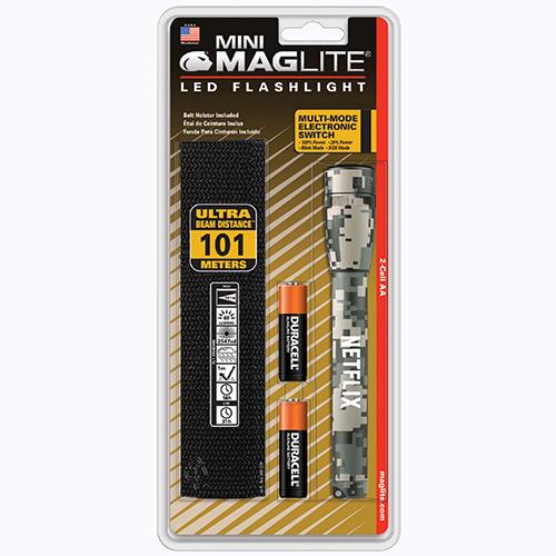 Custom Imprinted Mag-Lite LED Holster Combo Packs